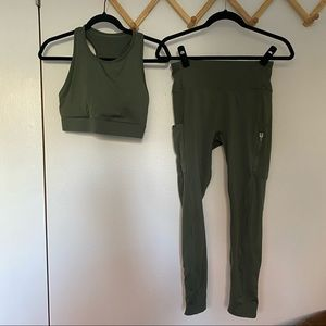 FABLETICS Trinity high impact sports bra & high waist utility pants